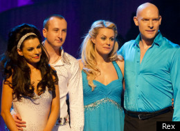 Andy Whyment has been booted off Dancing On Ice