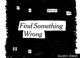 Austin Kleon can't help but read between the lines