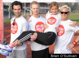 The Made In Chelsea cast run for Sport Relief