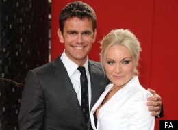 Rita Simons and Scott Maslen have to kiss in EastEnders