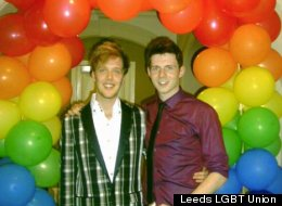 Leeds Students Make Their Mark In It Gets Better Project. Creators Christopher Lee And Alan Holmes