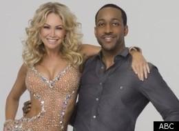 Kym Johnson and celebrity partner Jaleel White