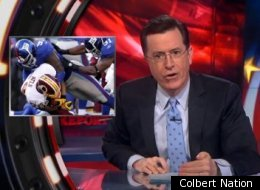 Stephen Colbert was shocked when he heard about the NFL's Bountygate.