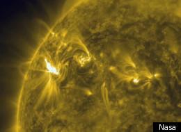 Great Ball Of Fire: Amazing New Nasa Photo Shows Three Solar Flares