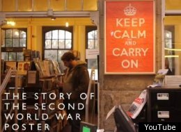 'Keep Calm And Carry On' was never formally issued and placed on reserve for times of crisis.