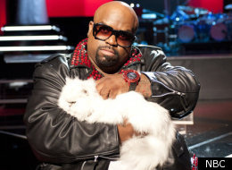 Cee Lo and Purrfect the Cat