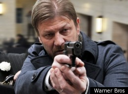 Sean Bean is back doing what he does best - brooding and looking menacing - in 'Cleanskin'