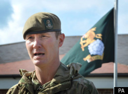 Commanding Officer Zac Stenning paid tribute to the six killed in Afghanistan