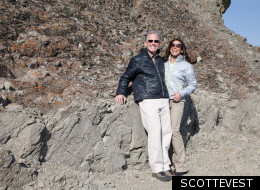 Deep pockets: Scott and Laura Jordan created SCOTTEVEST, clothing that utilizes their intelligent pocket TEC design.