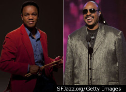 Stefon Harris, left, is looking forward to the SFJazz Collective's tour honoring the work of Stevie Wonder.