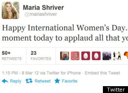 International Women's Day was celebrated on Twitter by regular folk and celebrities alike.
