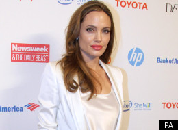 Angelina Jolie at the Women in the World Summit