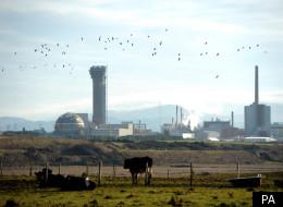 The Sellafield nuclear plant in Seascale, Cumbria.