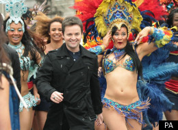 Dec at the Britain's Got Talent flashmob