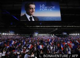 Nicolas Sarkozy en meeting à Villepinte