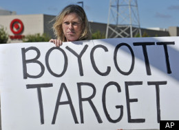 Protesting Target in 2010