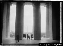 Vista from the Lincoln Memorial, May 5, 1922