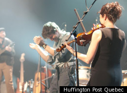 La formation Mes Aïeux lançait un nouvel album, le lundi 12 mars 2012. (Huffington Post Québec)