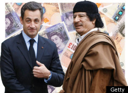 Sarkozy has previously been accused of receiving election funding from Gaddafi