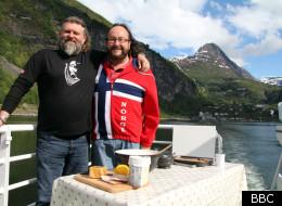 The Hairy Bikers in Norway