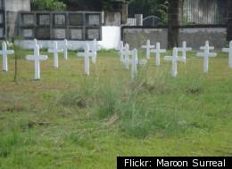Stock image of cemetery.