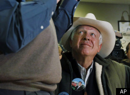 Wyoming multi-millionaire Foster Friess, pictured with GOP presidential candidate Rick Santorum, has also spread his money around at the state level.