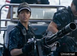 Taylor Kitsch and Rihanna star in 'Battleship'