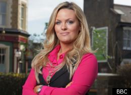 Tanya will have some happier EastEnders' scenes soon