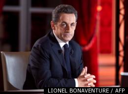 Le candidat-président Nicolas Sarkozy