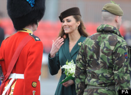 Soldiers Faint Over Kate Middleton's Hampshire Visit