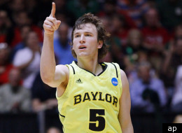 Brady Heslip led Baylor past Colorado in the NCAA Tournament.