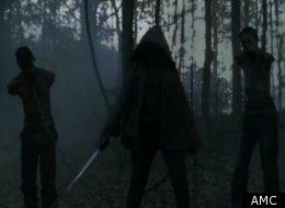 Michonne appears in