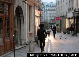 La rue des rosiers le 18 janvier 2010