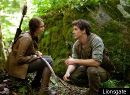 Hunger Games Clip: Katniss And Gale