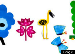 Marimekko Spring Equinox Google Doodle