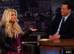 Jessica Simpson talks pregnancy, on 'Jimmy Kimmel Live'