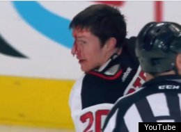 Three fights broke out once the puck dropped at the Rangers-Devils game.