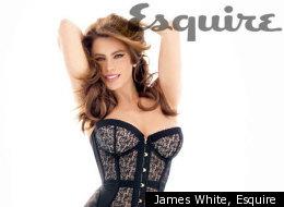 Sofia Vergara dons sexy lingerie for new Esquire magazine spread.