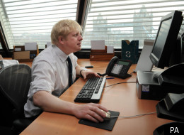 Boris Johnson has been accused of improper use of the Mayor's official Twitter account.