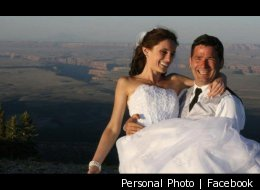 Ioana Hociota and Andrew Holycross tied the knot on June 11, 2011, while overlooking the world-famous valleys of the Grand Canyon.