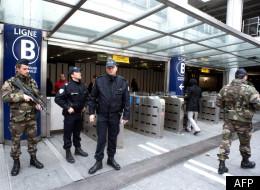 D'importantes forces de sécurité ont été déployées dans la région toulousaine (AFP PHOTO PASCAL PAVANI)