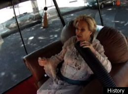 Cloris Leachman races to the Emmy Awards on