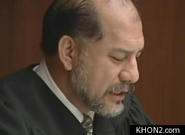 It got personal for Honolulu-based District Judge Lono Lee when he put a man in a chokehold for jumping onto his bench and breaking a flagpole bearing the state flag