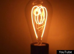 This lightbulb has been glowing for 100 years.