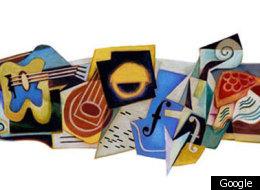 Juan Gris, Cubist Painter, Stars In Google Doodle