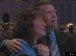 After Michelle Duggar's miscarriage the family gathers for a memorial service