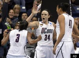 UConn Players: Tiffany Hayes, guard Kelly Faris, Kiah Stokes
