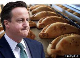David Cameron and Cornish pasties