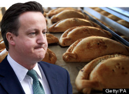 David Cameron and Cornish pasties