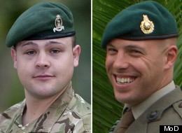 Lance Corporal Michael Foley and Sergeant Luke Taylor
